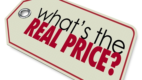 What's the Real Price words on a tag to ask for the actual value