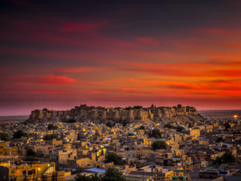 frances-gallogly-sunset-over-the-fort-in-jaisalmer-india